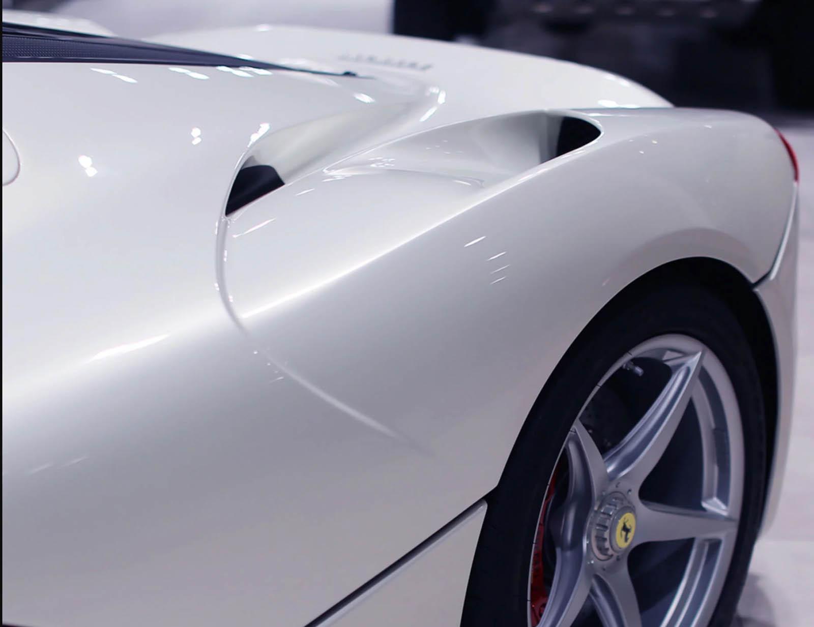 White LaFerrari Aperta for sale (7)