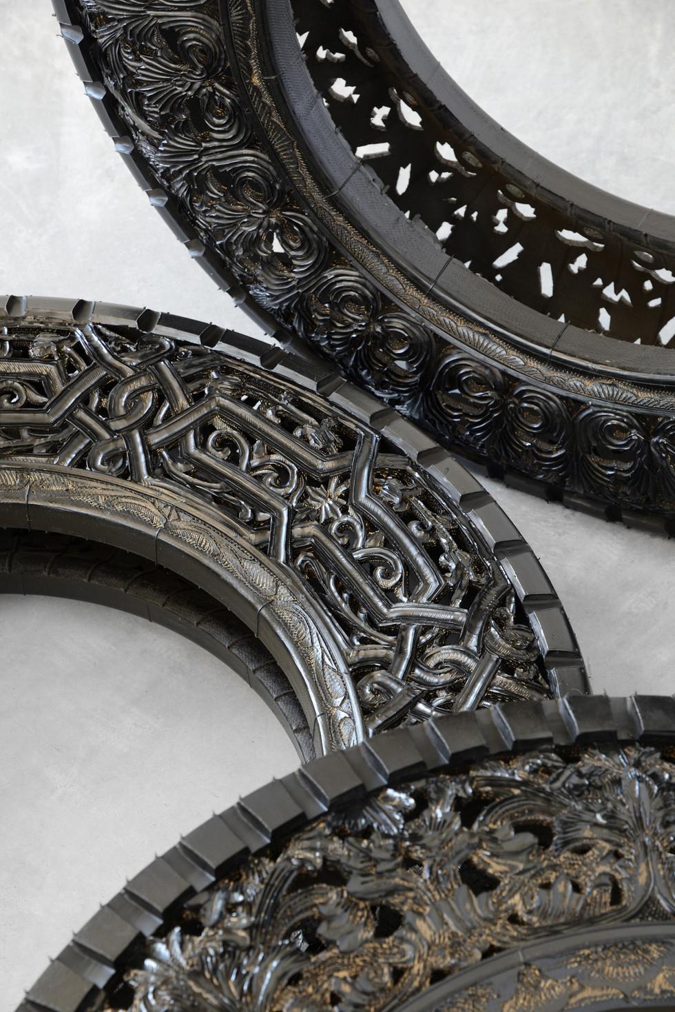 Wim Delvoye tyres (7)