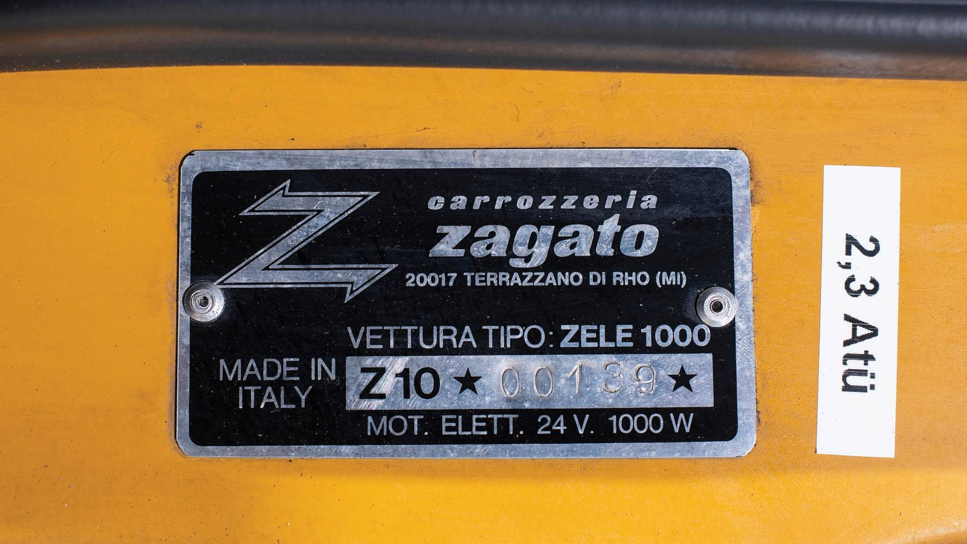 Zagato Zele 100 1974 for sale (8)