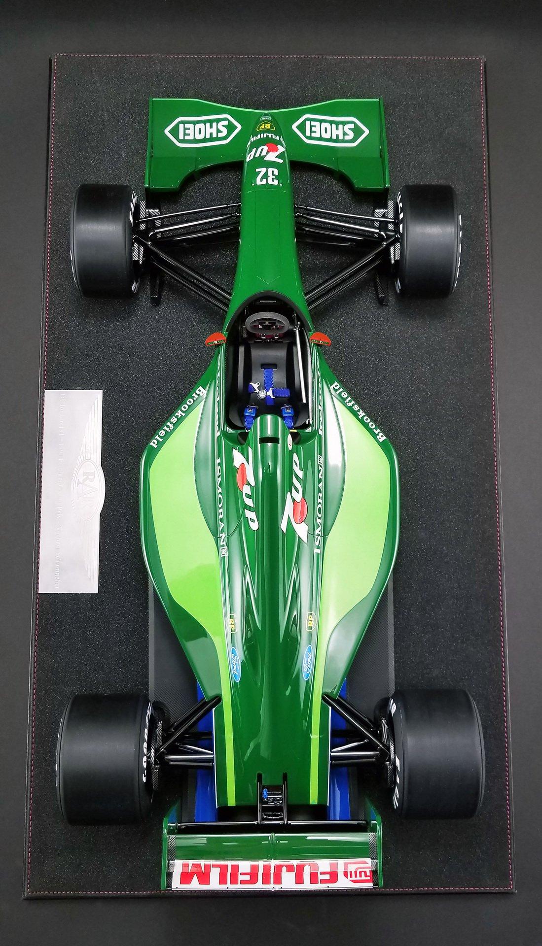 1991_Jordan_F1_car_Schumacher_scale_0002