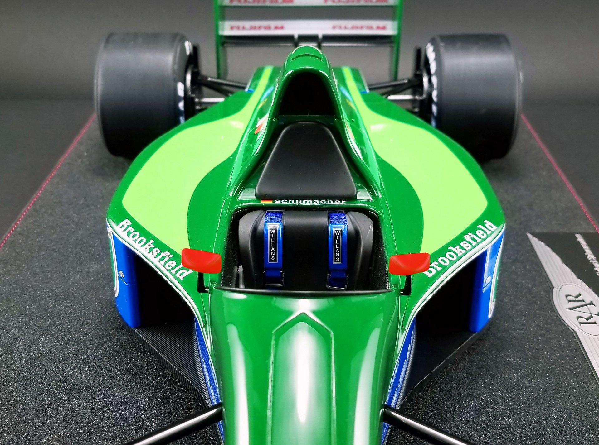 1991_Jordan_F1_car_Schumacher_scale_0008