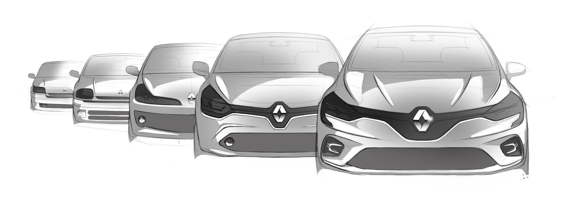 2019 - Genèse design Nouvelle Renault CLIO
