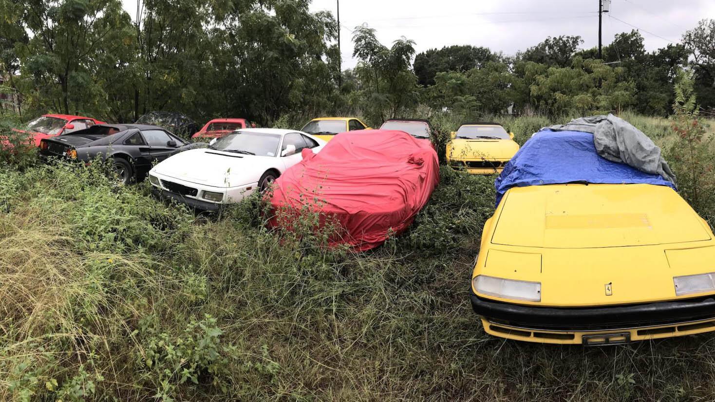 Abandoned-Ferrari-1