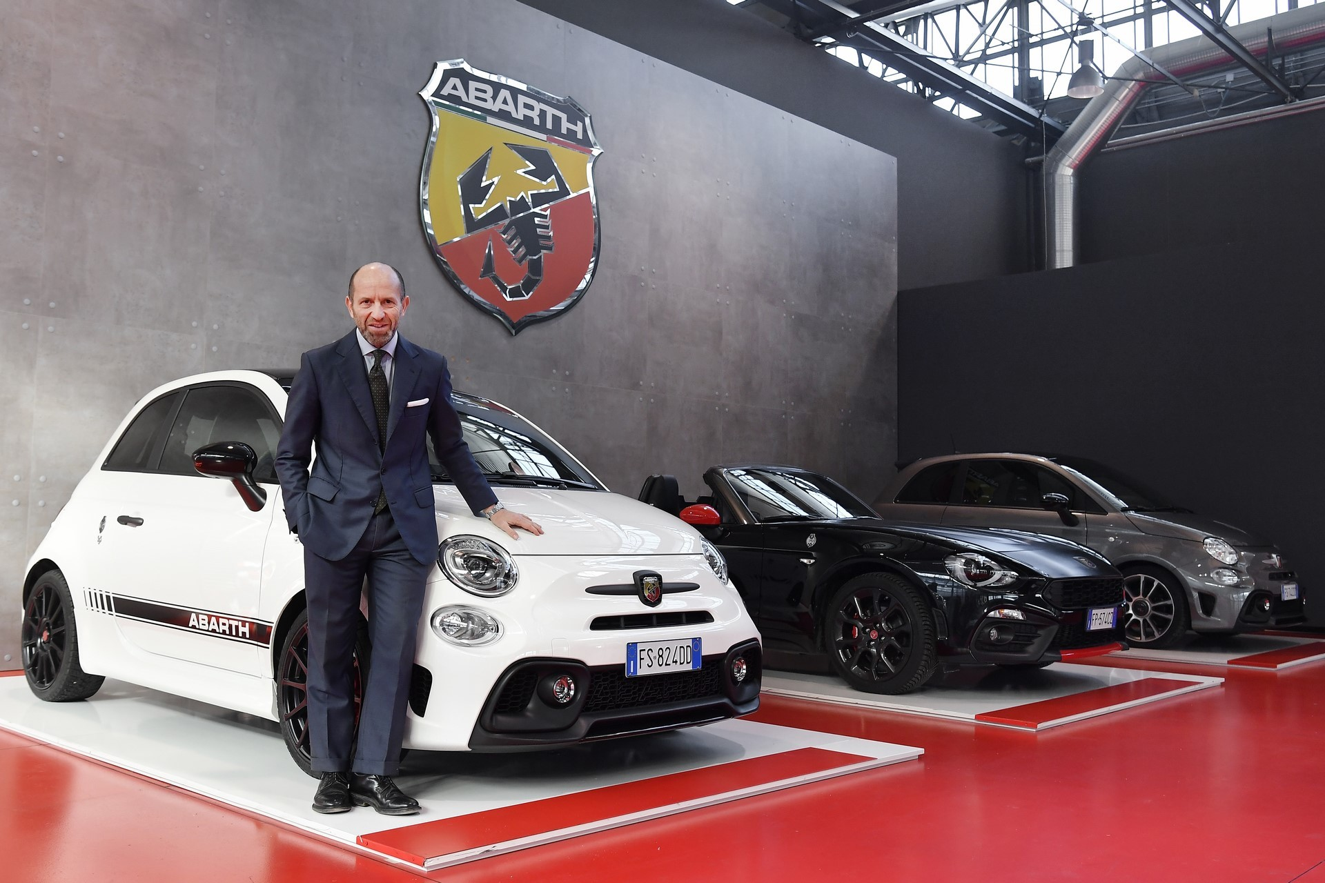 Luca Napolitano Head of EMEA Fiat & Abarth Brands