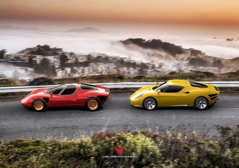 Alfa Romeo Nivola 2019 by Ugur Sahin Design (14)