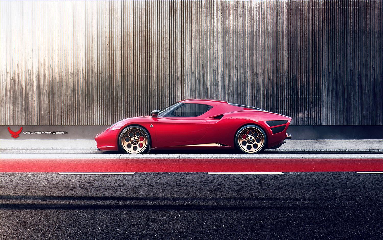 Alfa Romeo Nivola 2019 by Ugur Sahin Design (2)