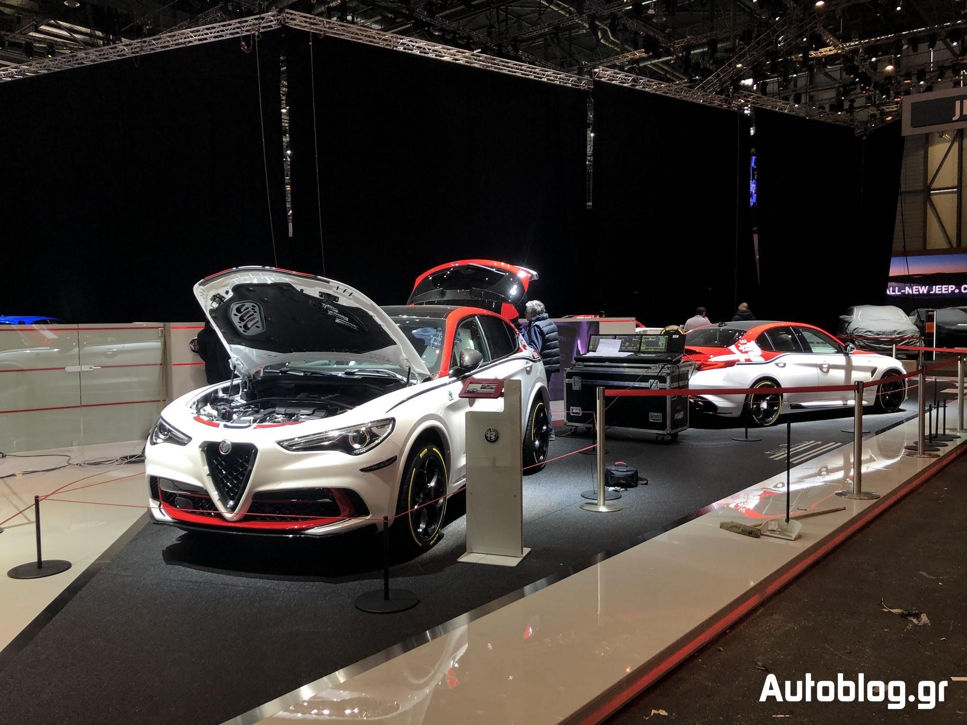Alfa Romeo Stand Geneva 2019 (2)