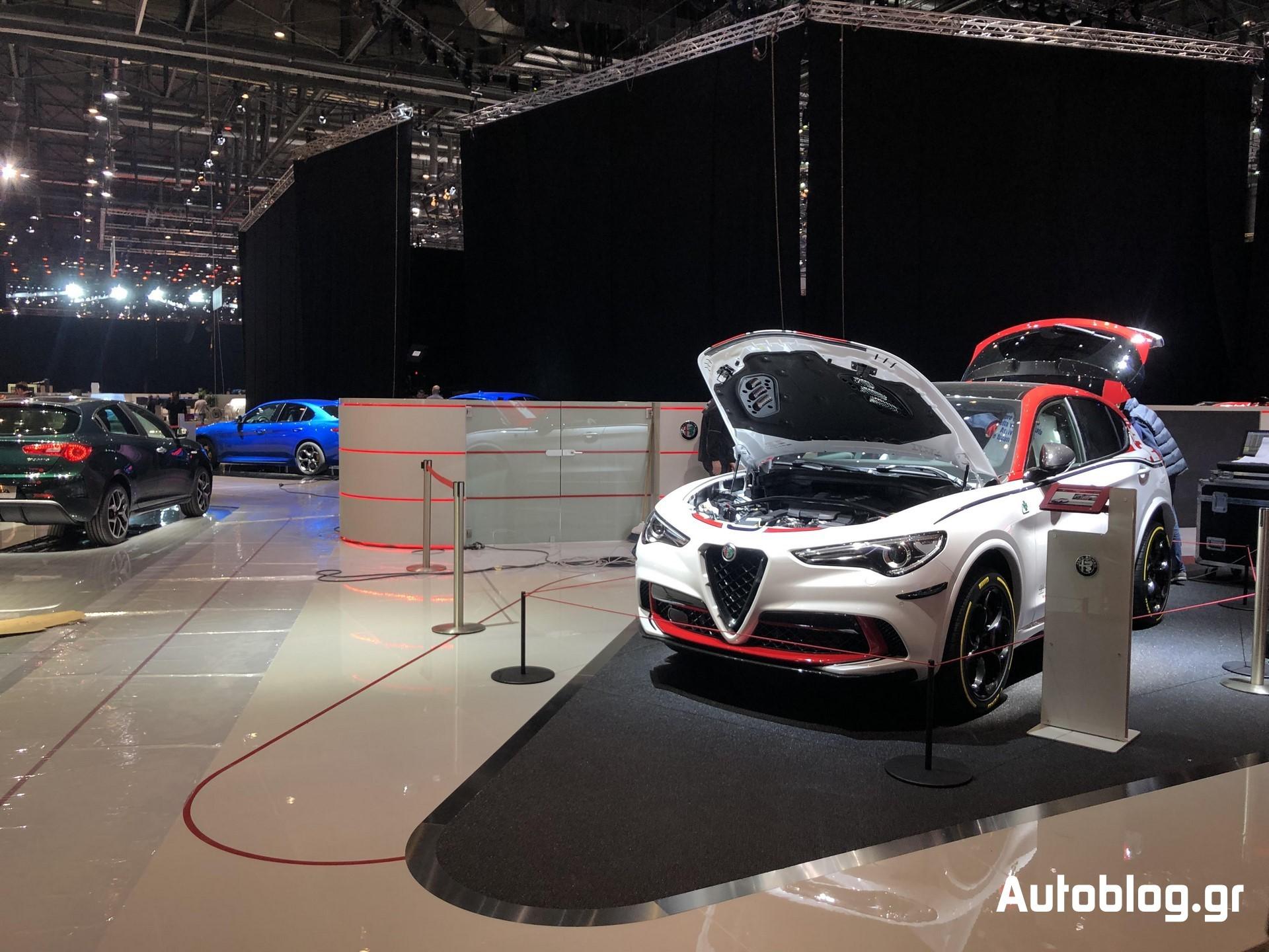 Alfa Romeo Stand Geneva 2019 (4)