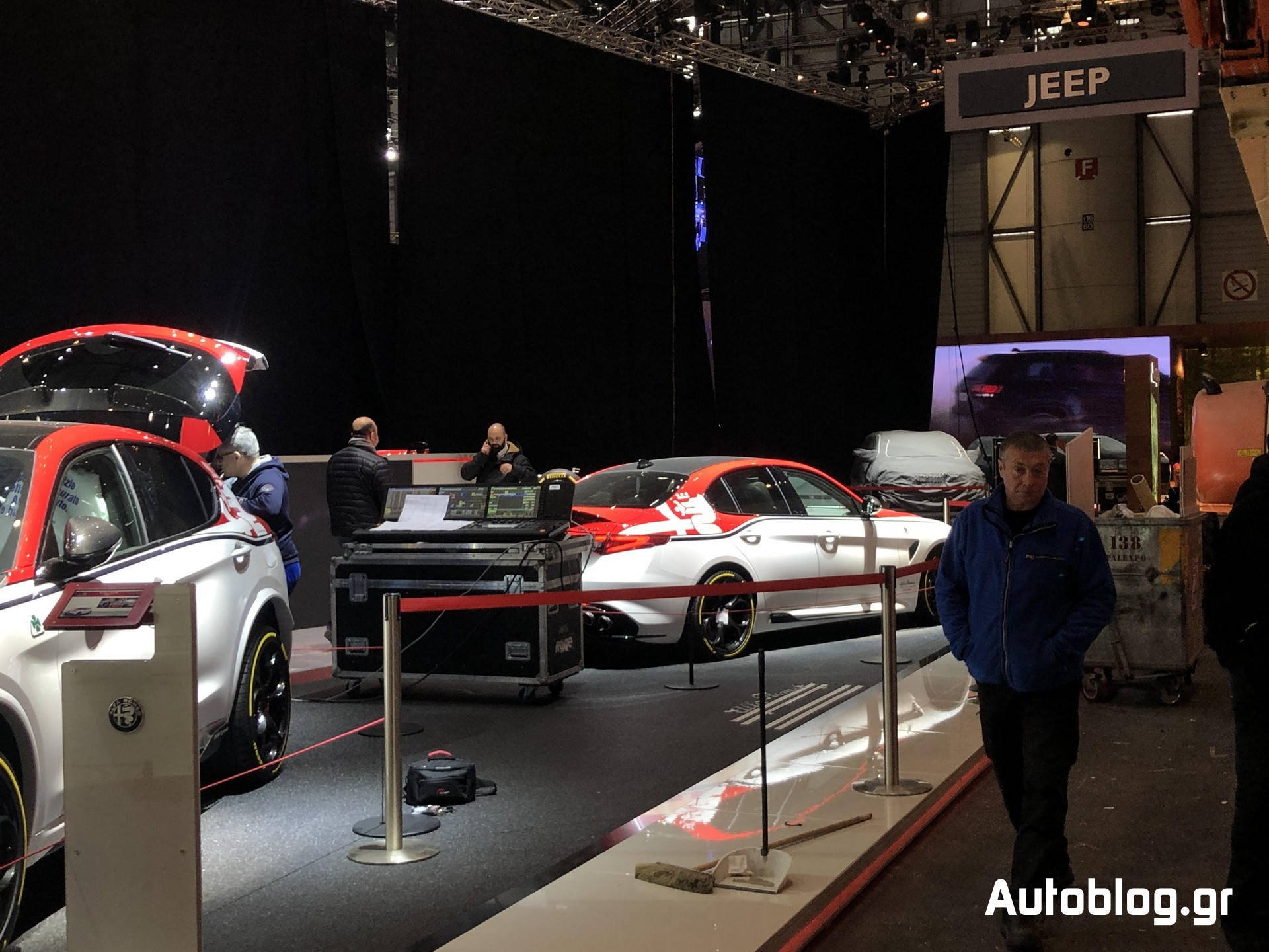 Alfa Romeo Stand Geneva 2019 (5)