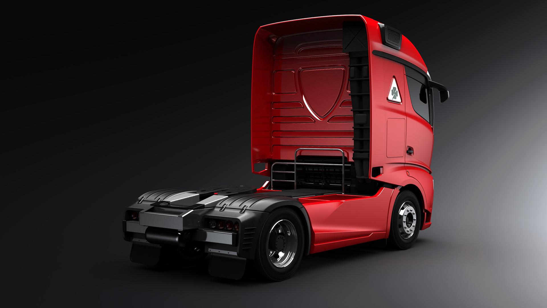 Alfa Romeo Truck concept rendering (17)