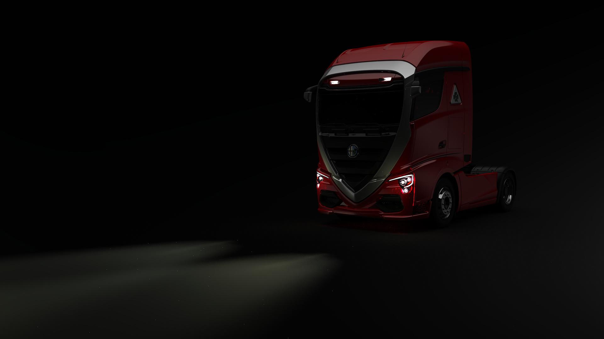 Alfa Romeo Truck concept rendering (18)