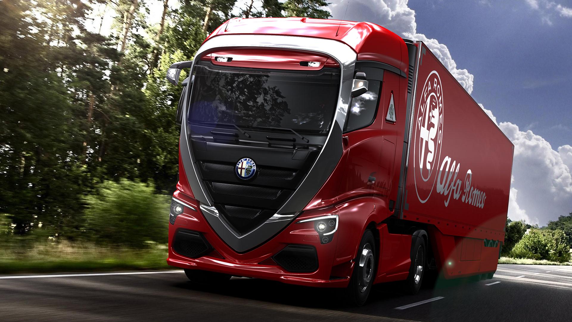 Alfa Romeo Truck concept rendering (2)