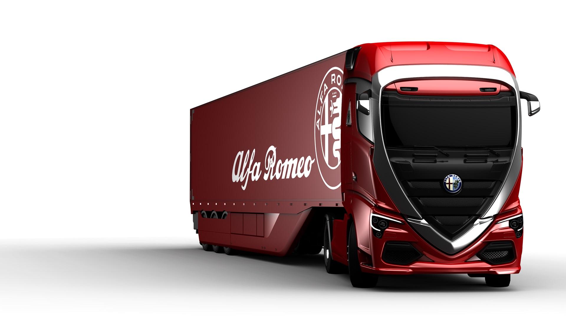 Alfa Romeo Truck concept rendering (3)