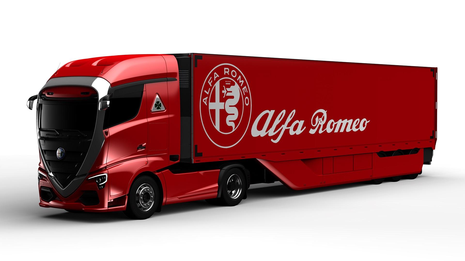 Alfa Romeo Truck concept rendering (4)