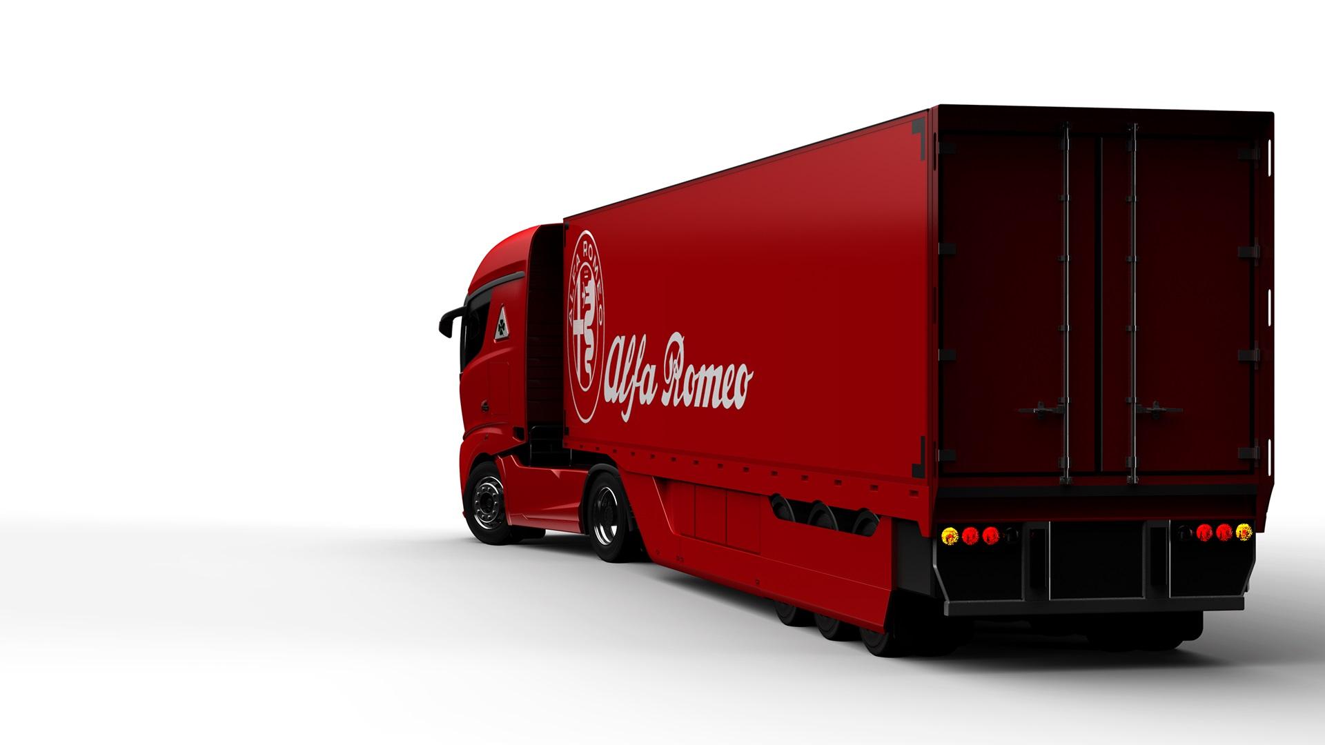 Alfa Romeo Truck concept rendering (6)