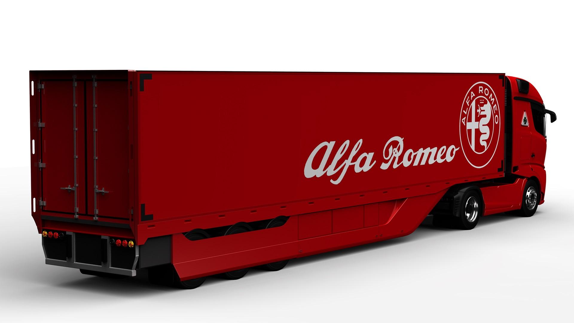 Alfa Romeo Truck concept rendering (8)