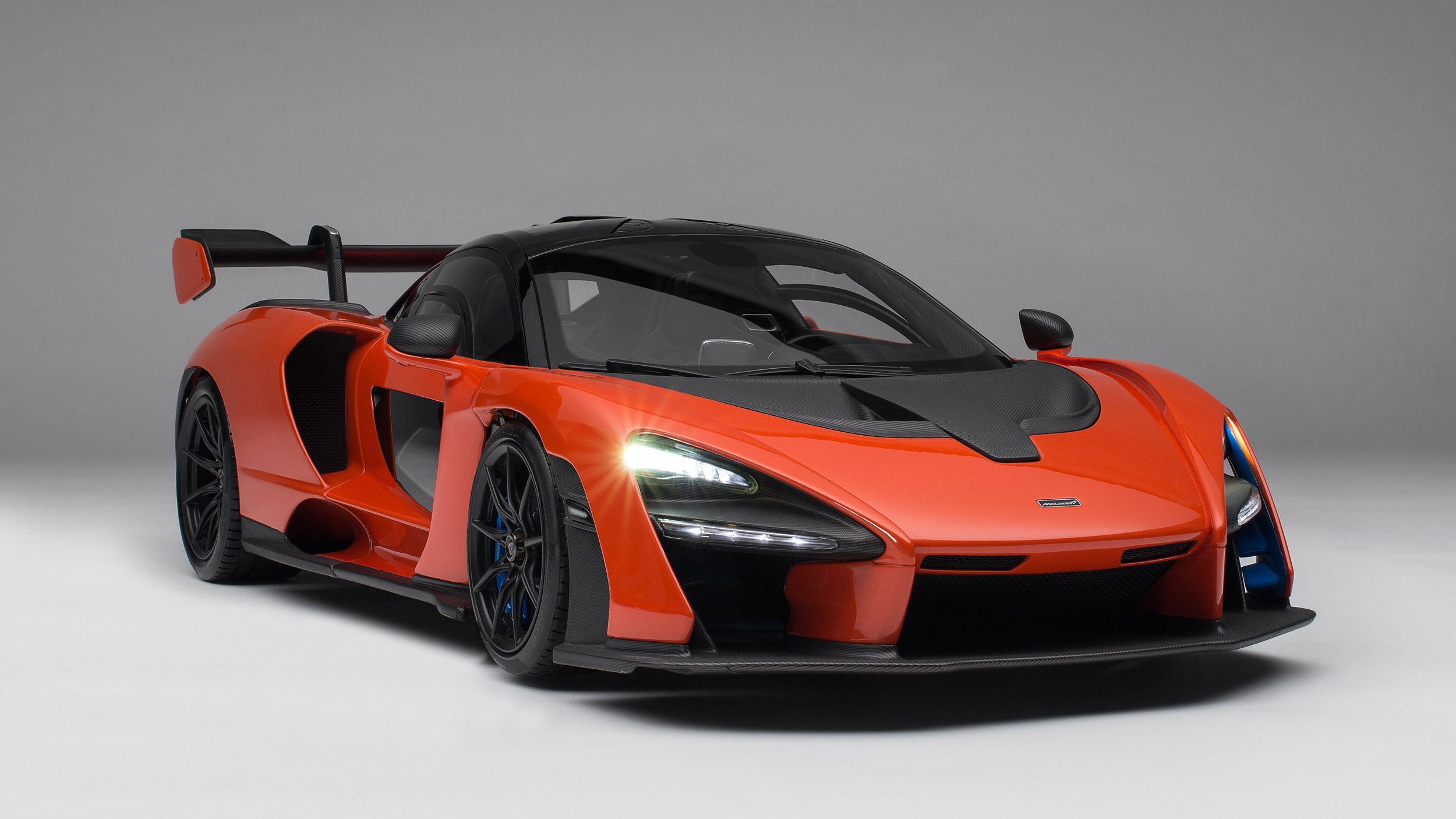 Amalgam-McLaren-Senna-miniature-model-1