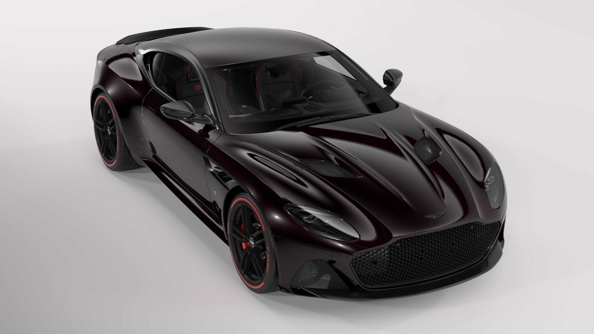 Aston Martin DBS Superleggera Tag Heuer Edition (1)