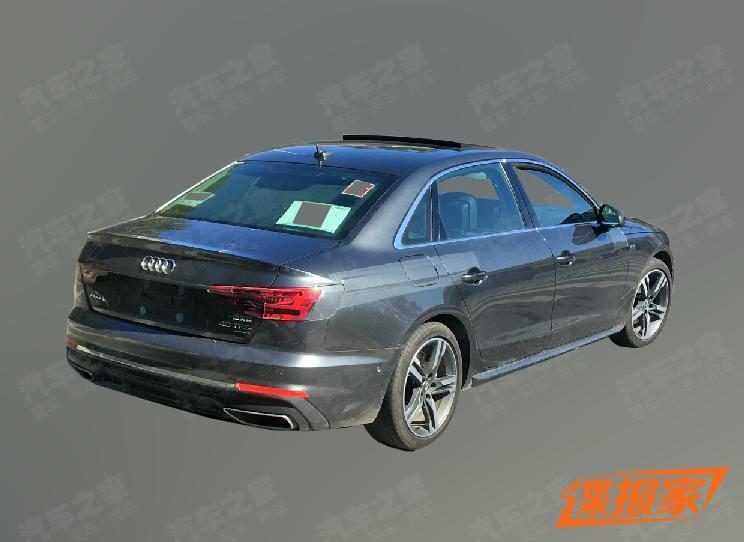 Audi_A4_L_facelift_leaked_0002
