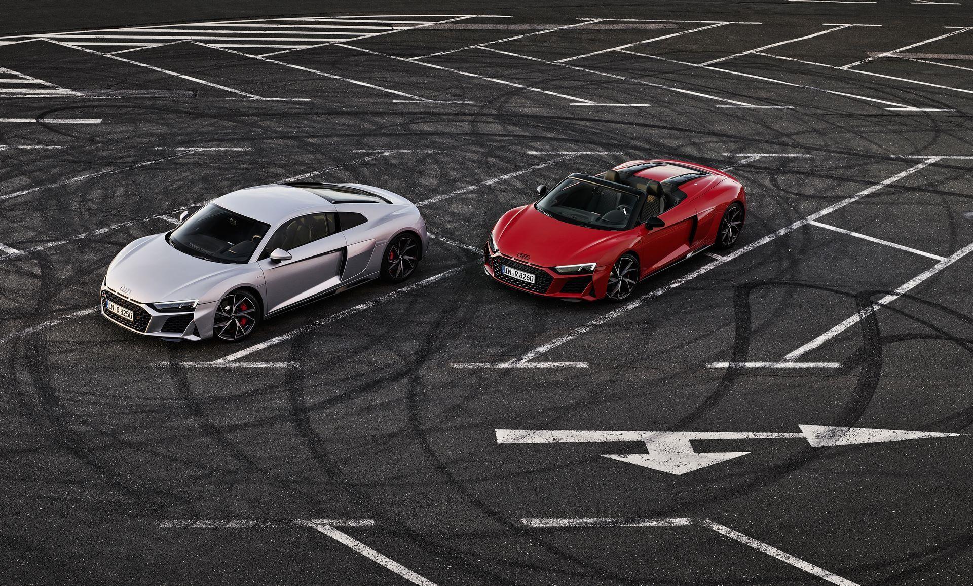 Audi R8 V10 RWD Coupé / Audi R8 V10 RWD Spyder