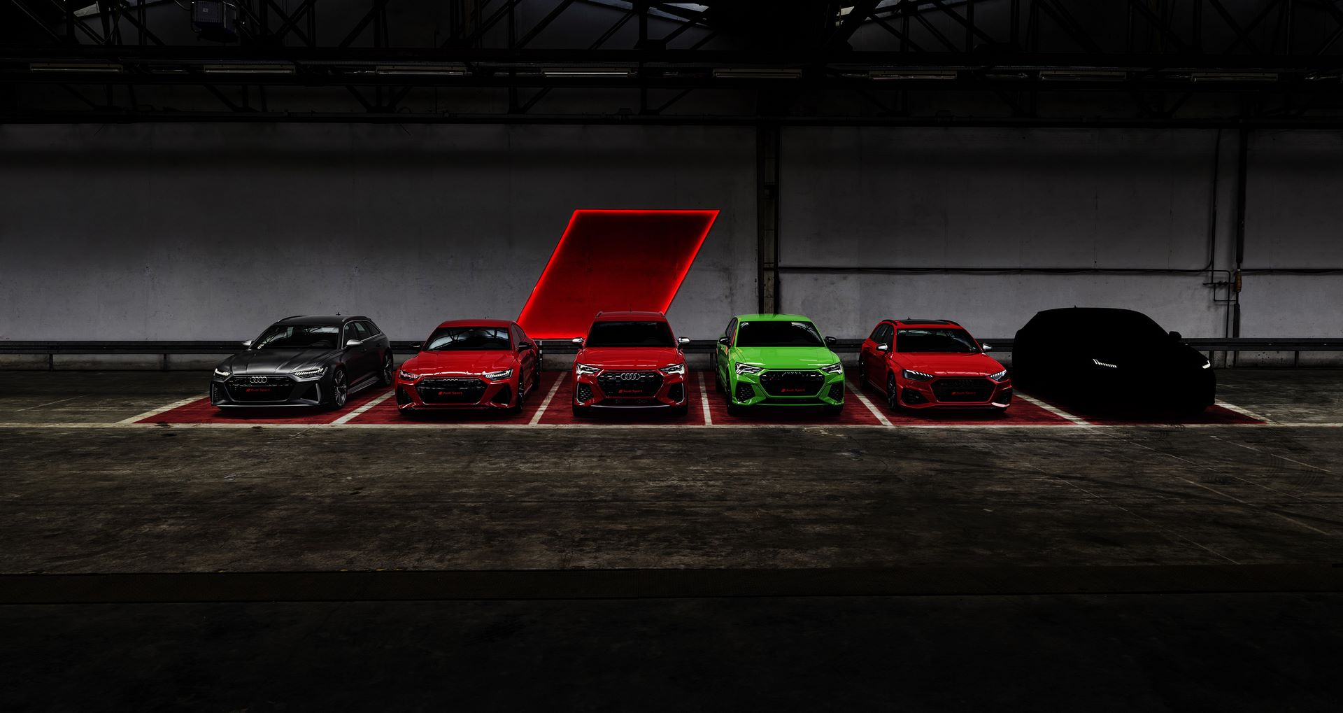 Audi Sport GmbH will be presenting six new models by the end of 2019.