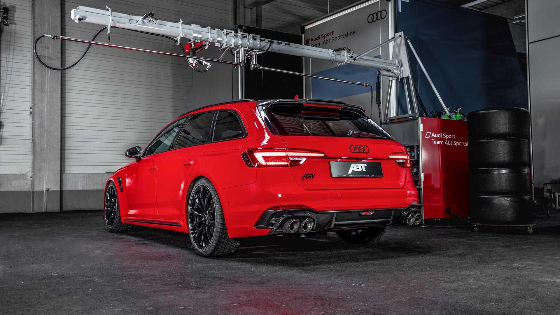 Audi Rs4 By Abt 530 ά Autoblog Gr