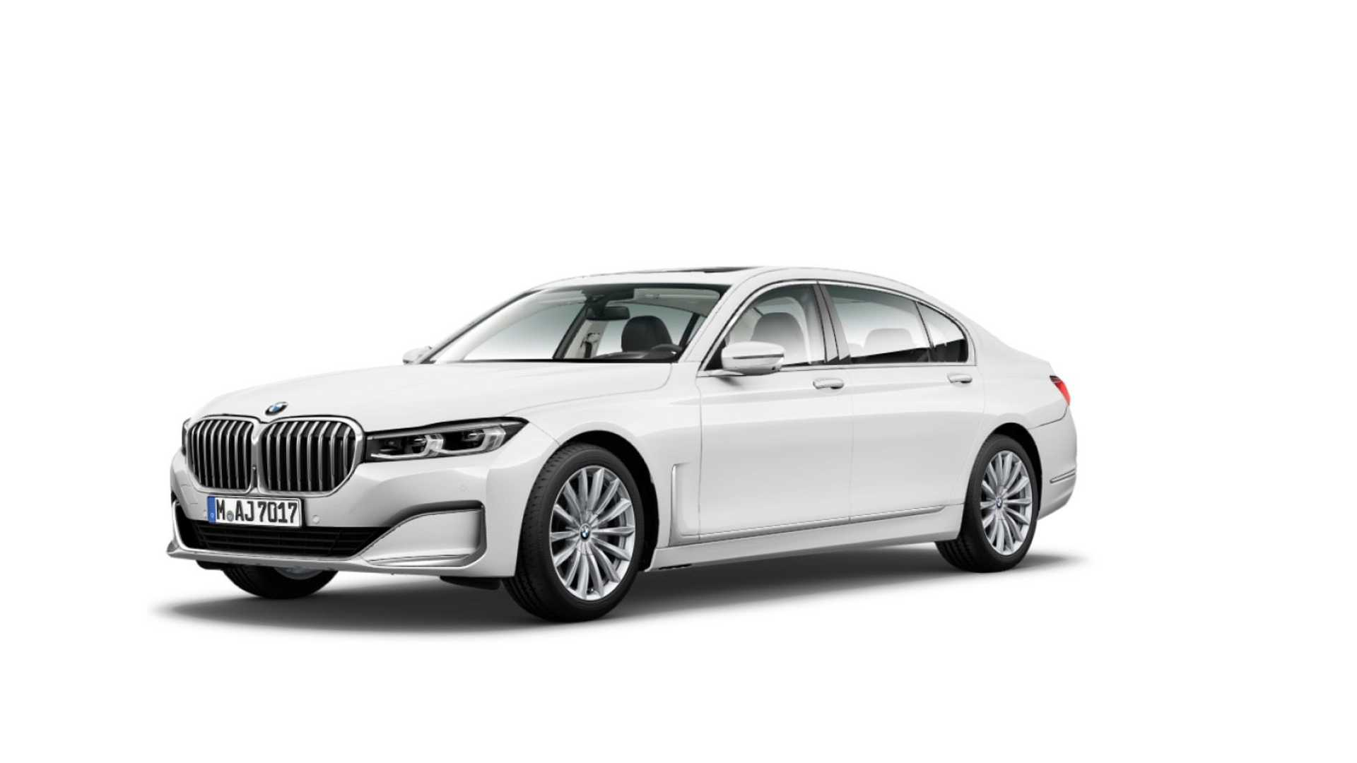 BMW 7 Series facelift 2019 leaked official images (2)
