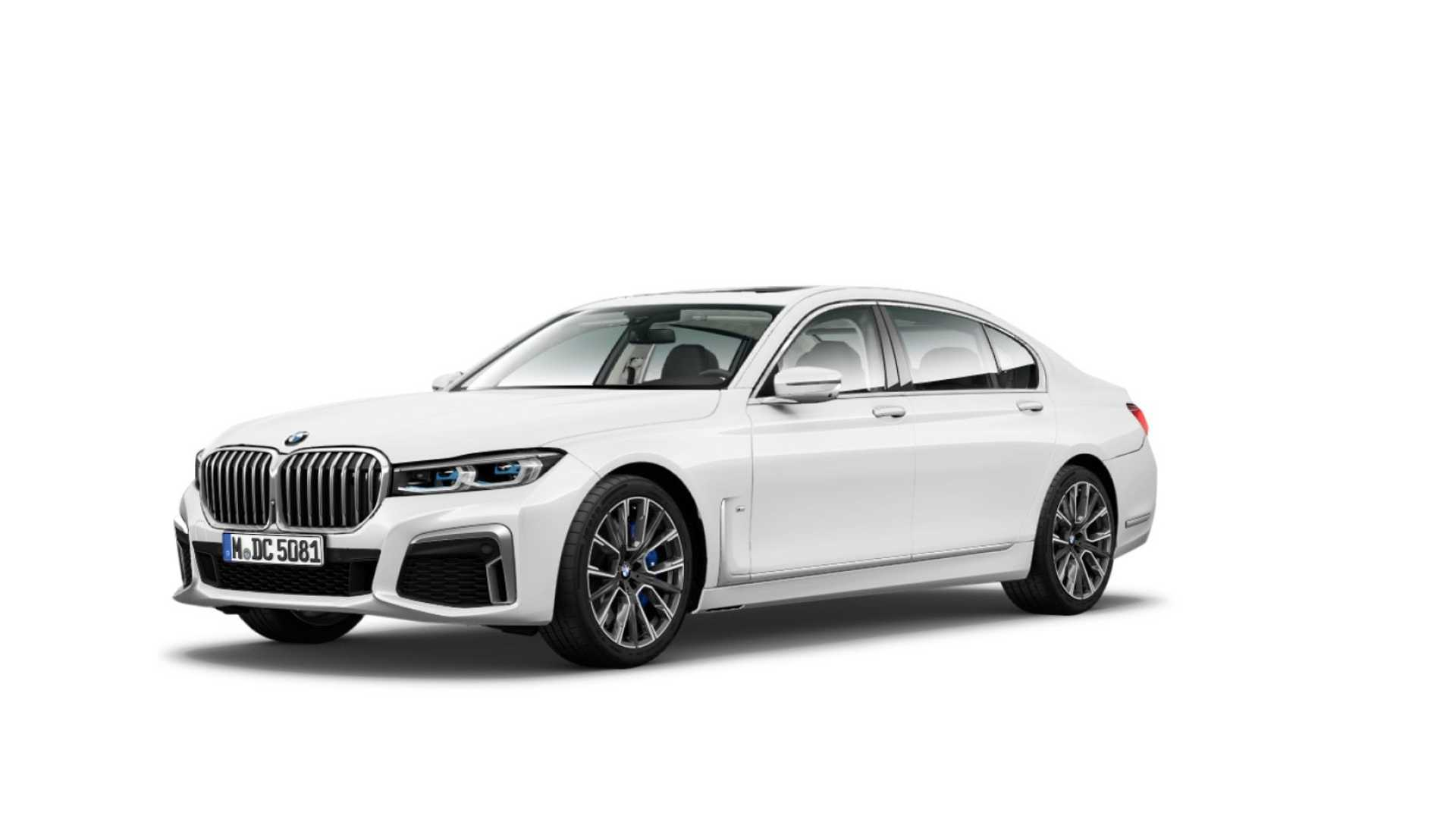 BMW 7 Series facelift 2019 leaked official images (3)