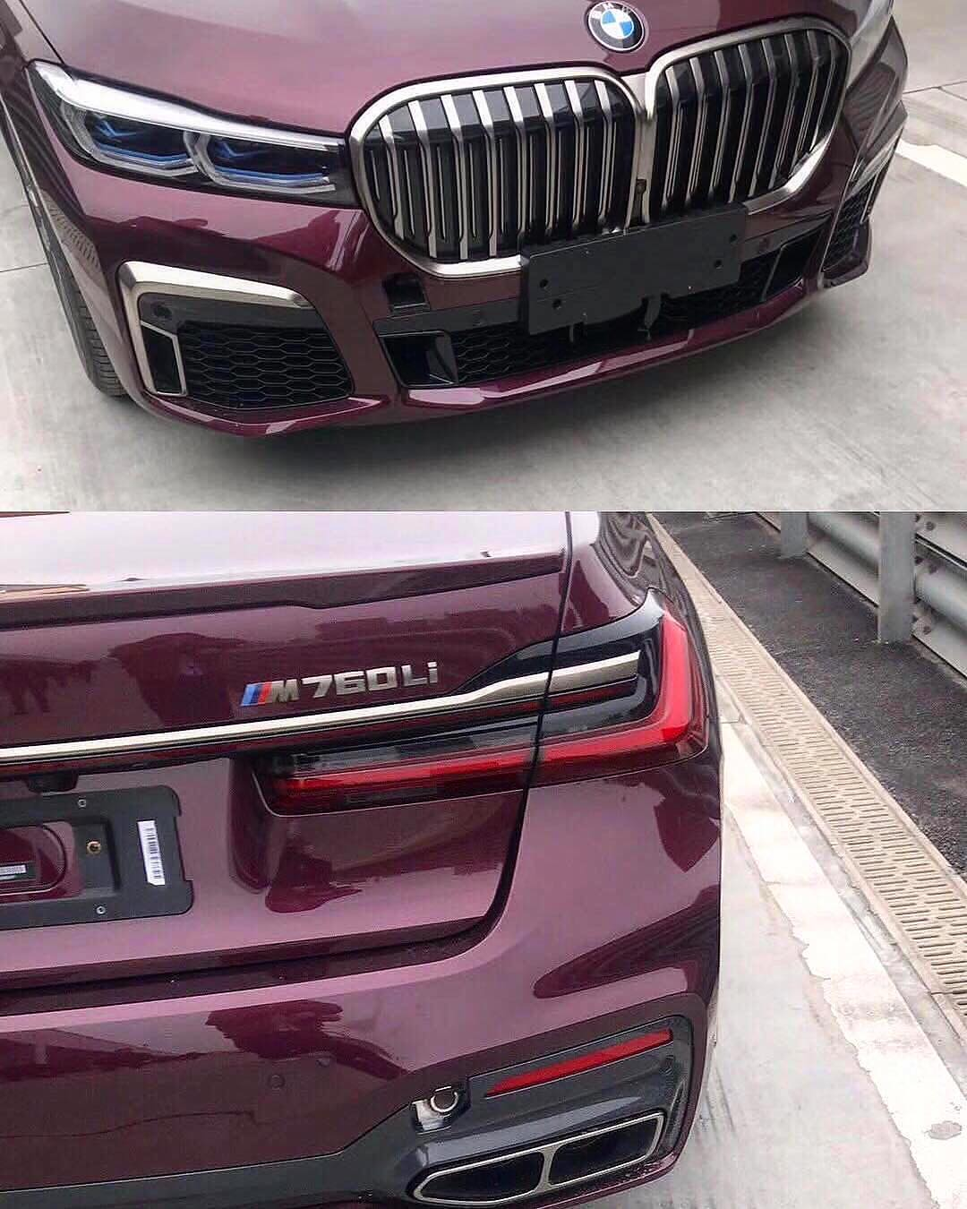 BMW 7-Series Facelift 2019 leaked photos (6)