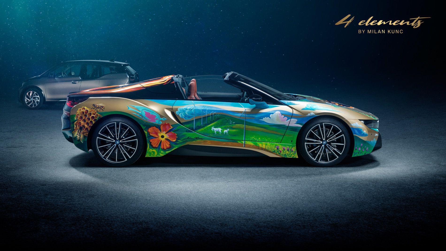 BMW i8 Roadster 4 Elements Art Car by Milan Kunc (3)