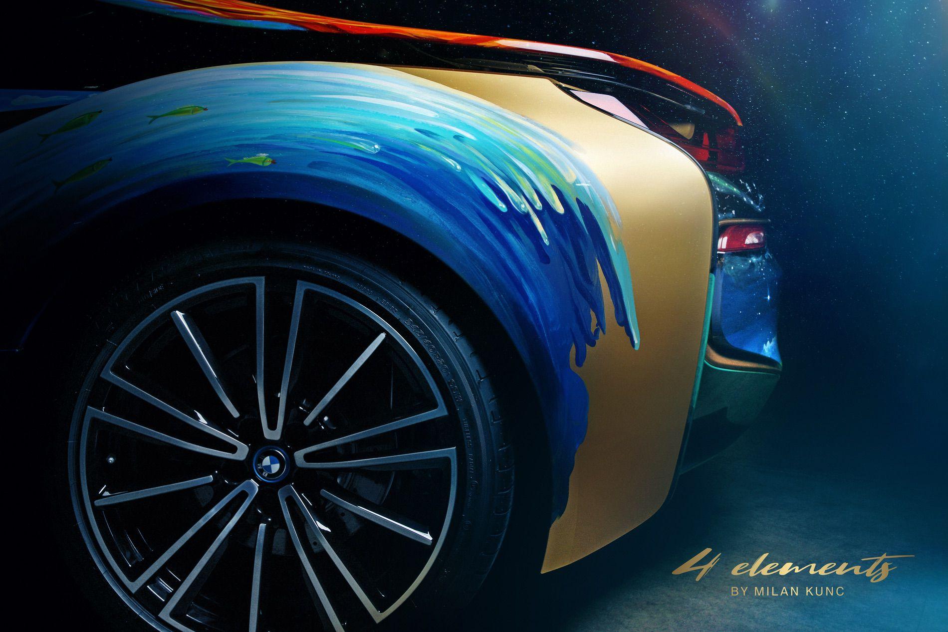 BMW i8 Roadster 4 Elements Art Car by Milan Kunc (5)