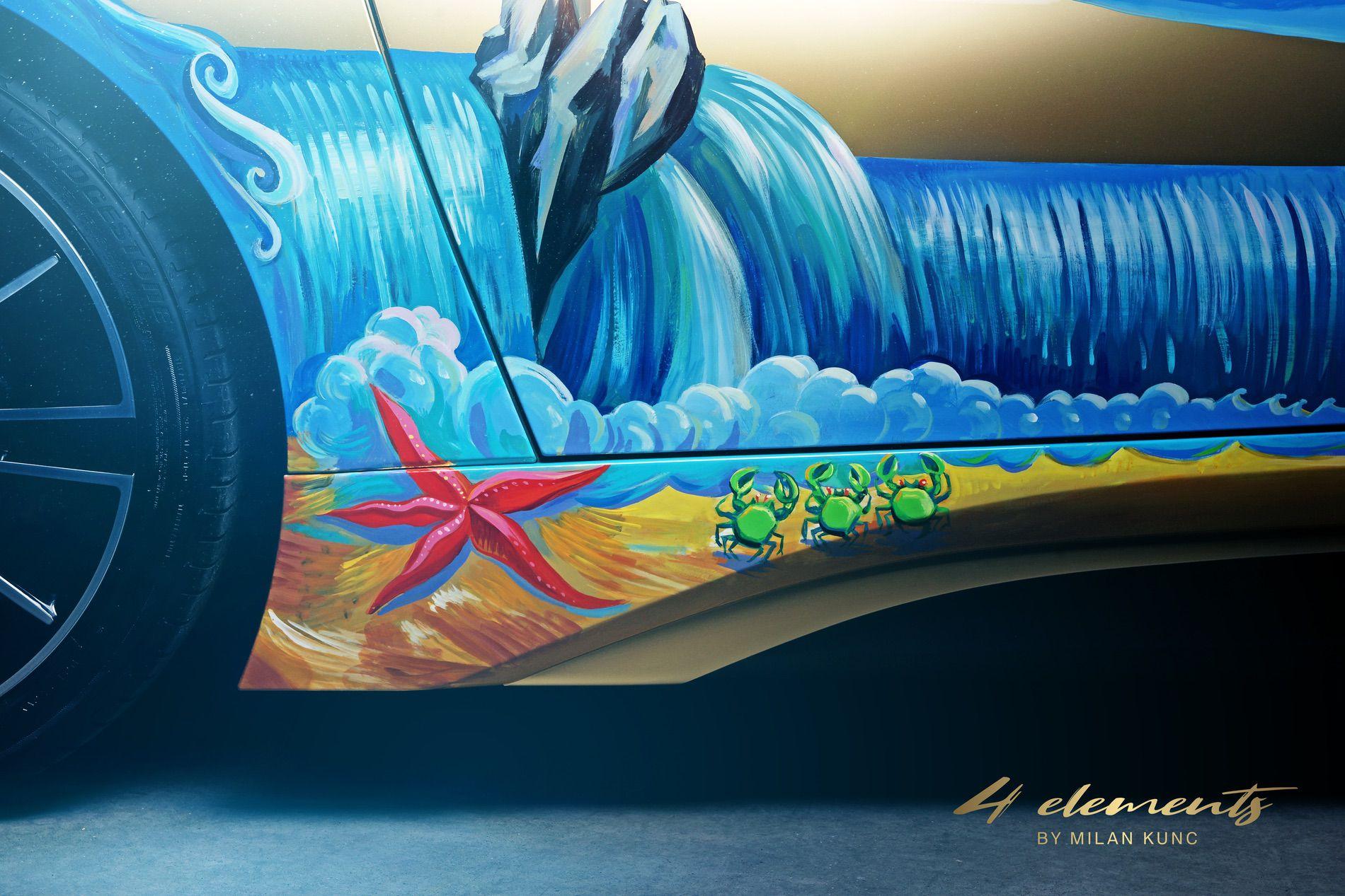 BMW i8 Roadster 4 Elements Art Car by Milan Kunc (7)