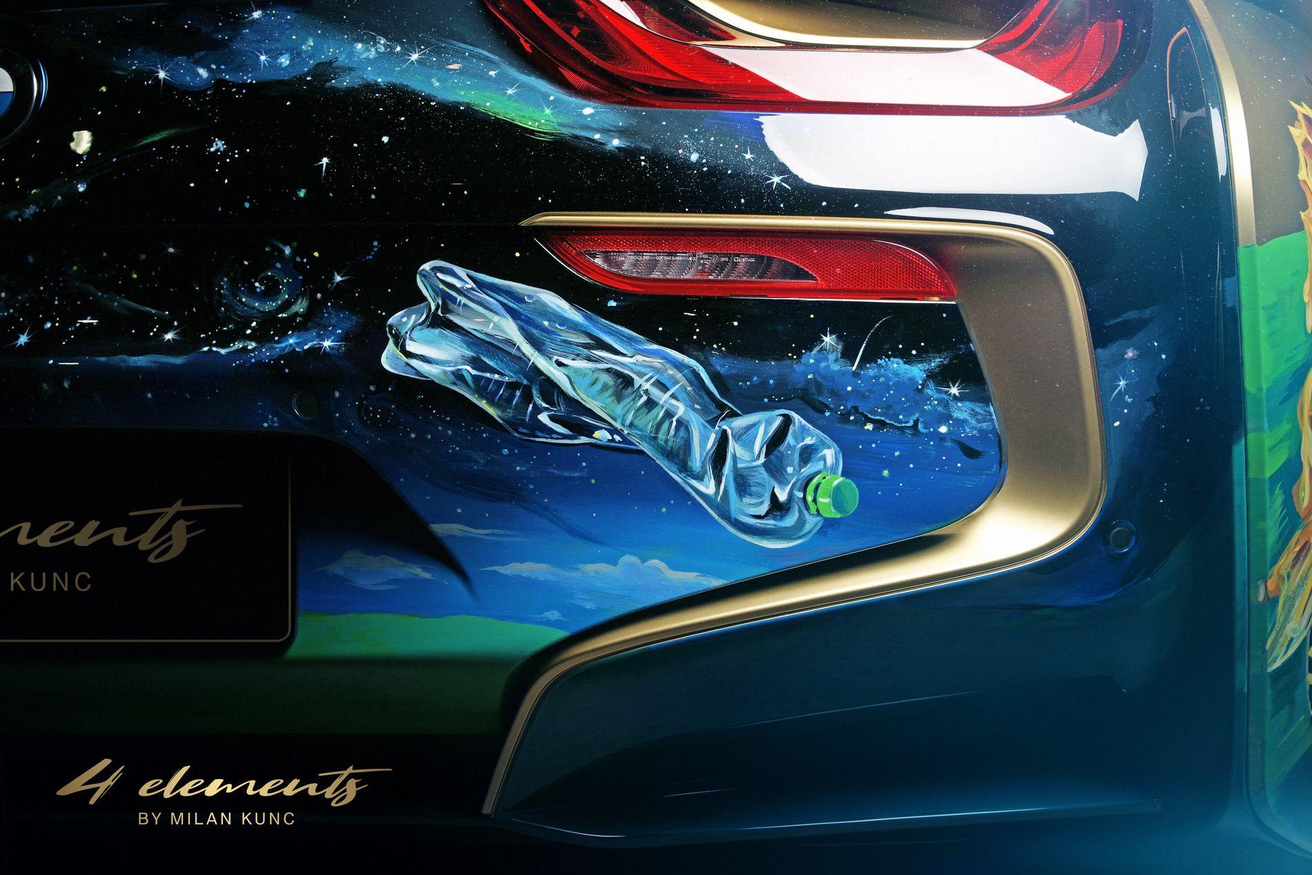 BMW i8 Roadster 4 Elements Art Car by Milan Kunc (8)