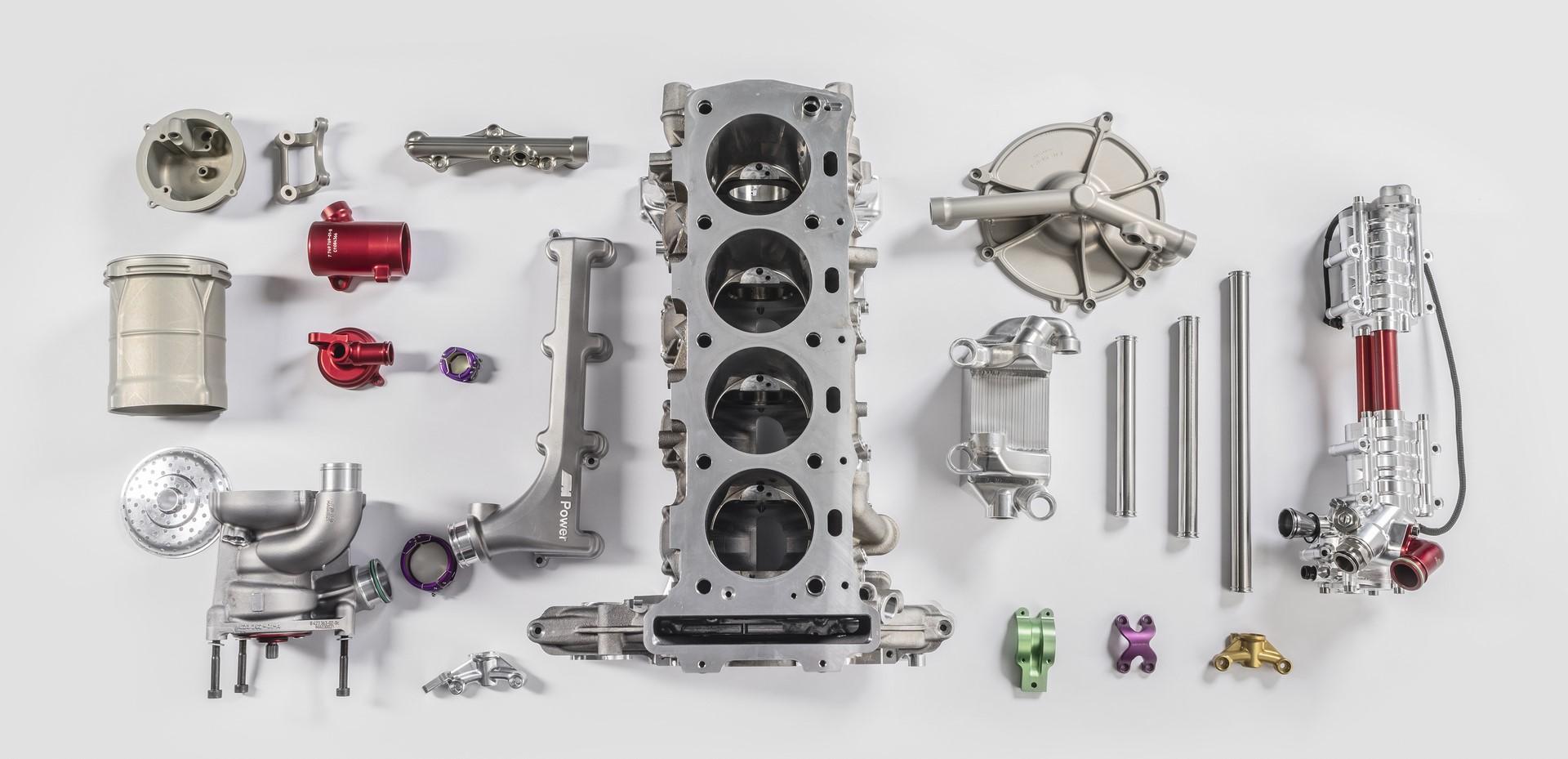 BMW M4 DTM Motor, Einzelteile, Muenchen 27.03.2019 ©Martin Hangen/hangenfoto