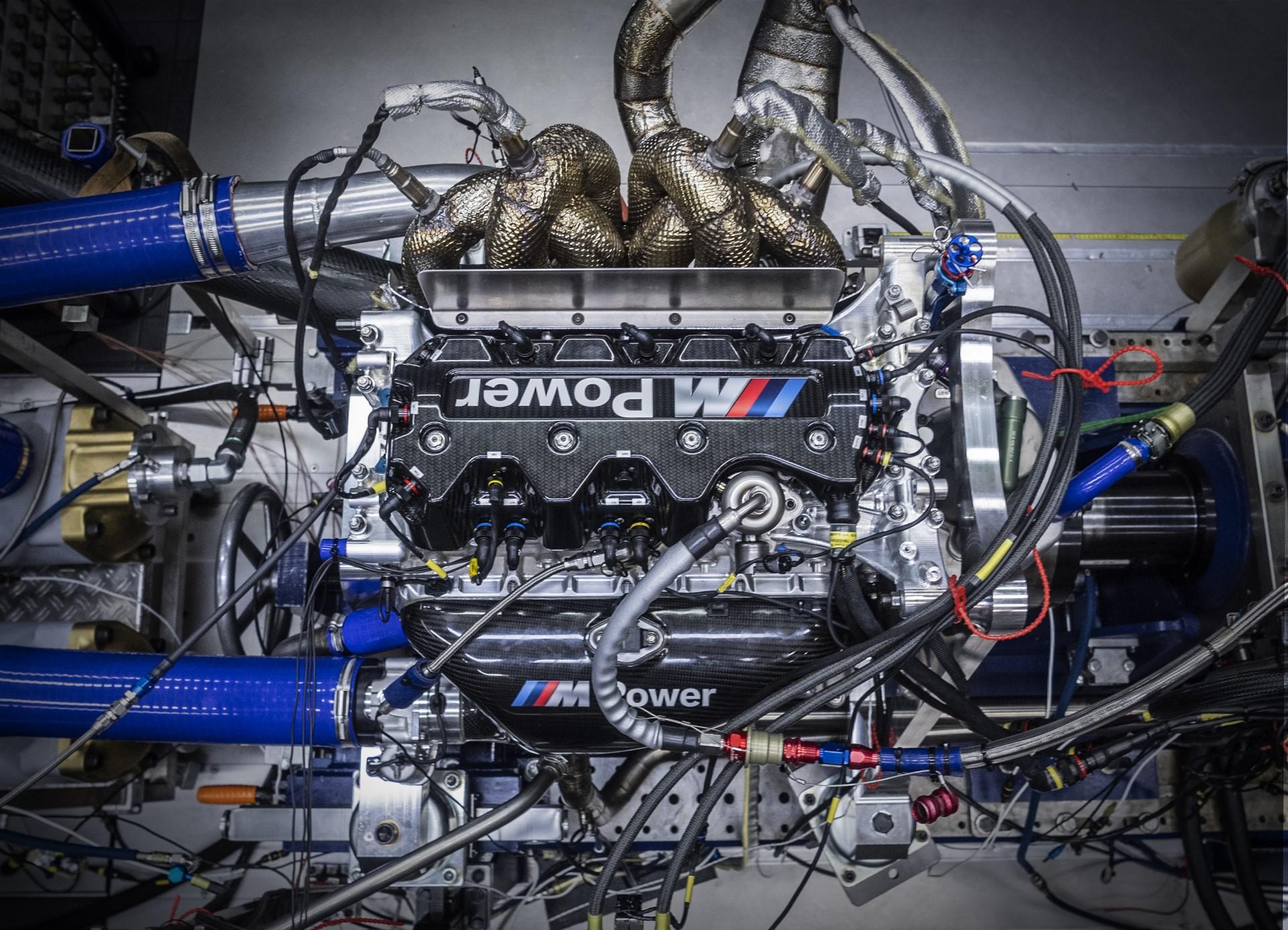 BMW M4 DTM Motor, Muenchen 27.03.2019 ©Martin Hangen/hangenfoto