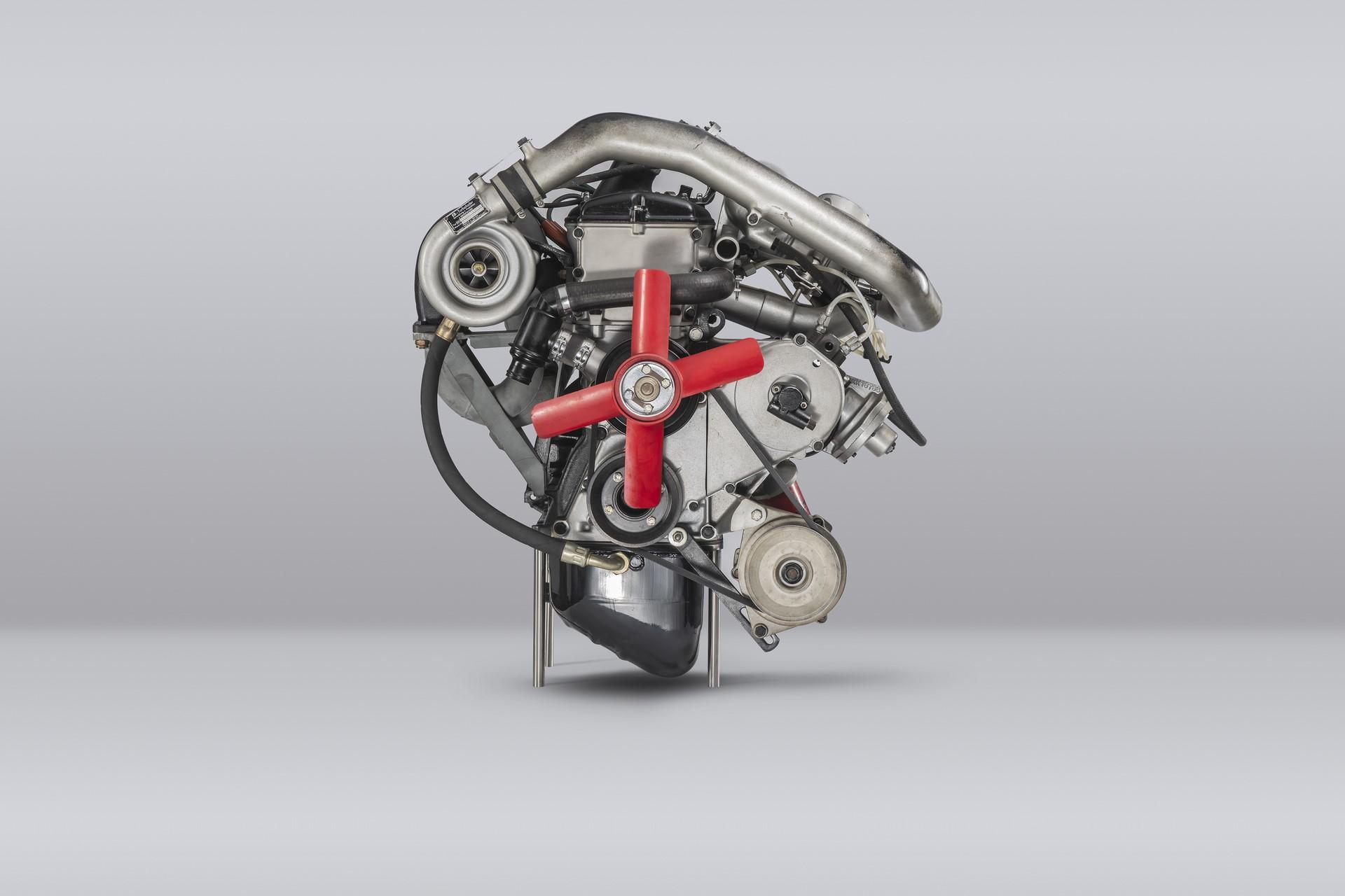 BMW 2002 Motor, Muenchen 27.03.2019 ©Martin Hangen/hangenfoto