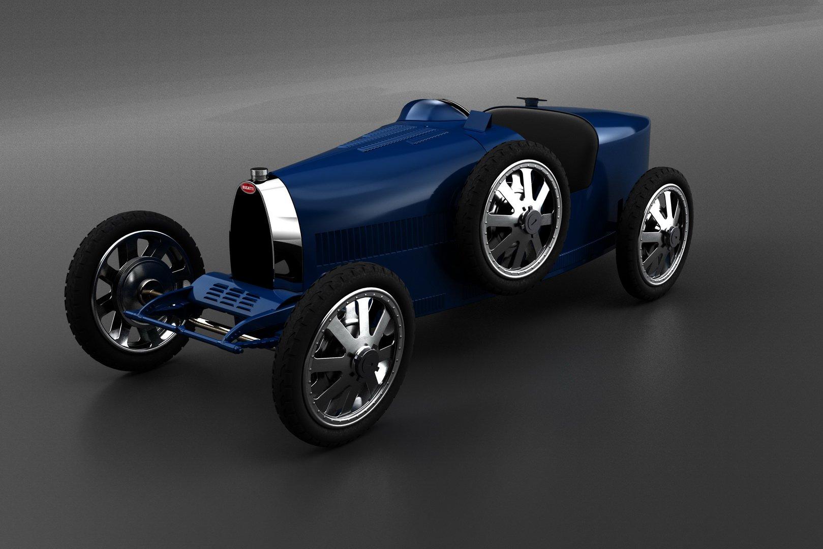 Bugatti Baby II Type 35 (1)