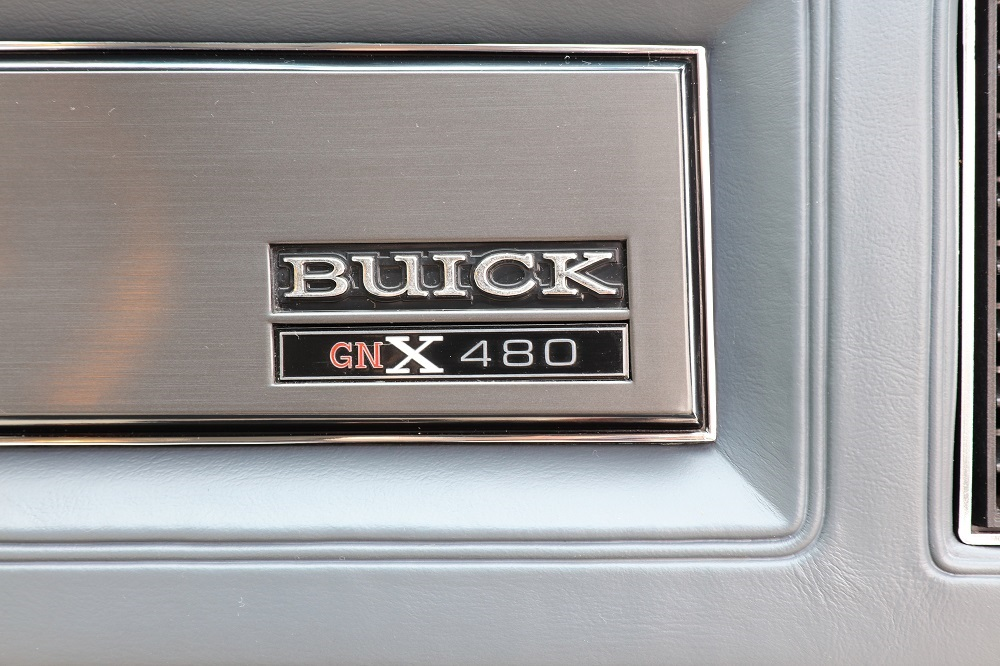 Buick GNX with only 13 km (9)