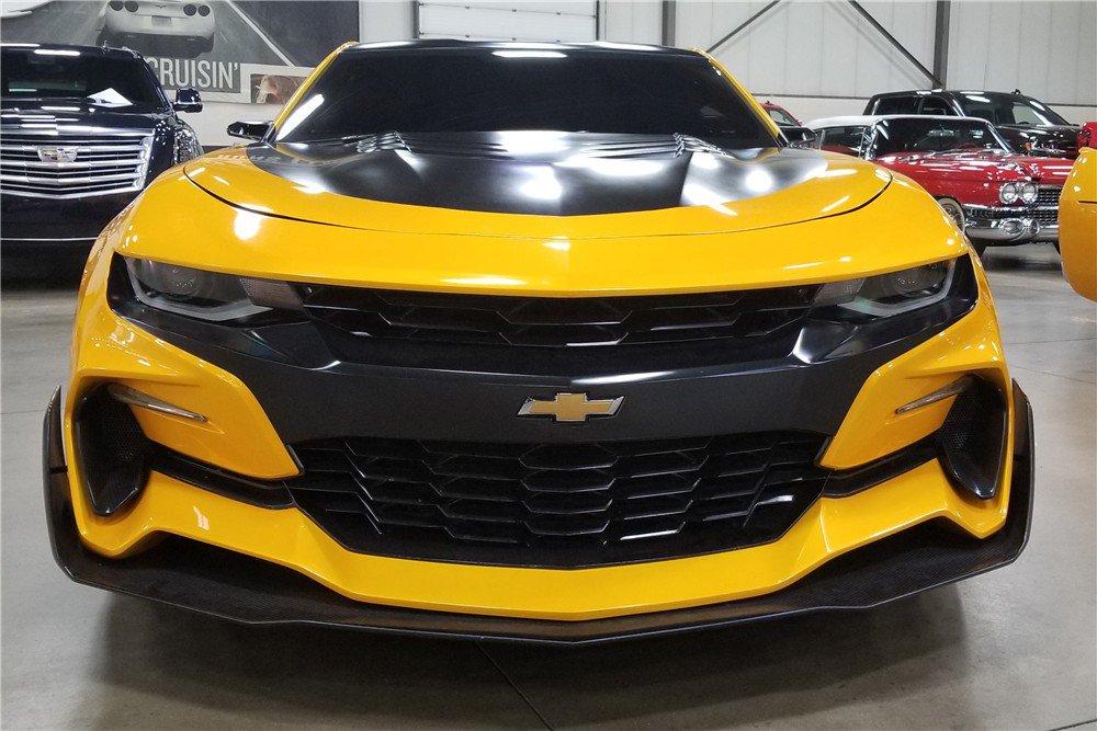 Bumblebee Camaro auction (10)