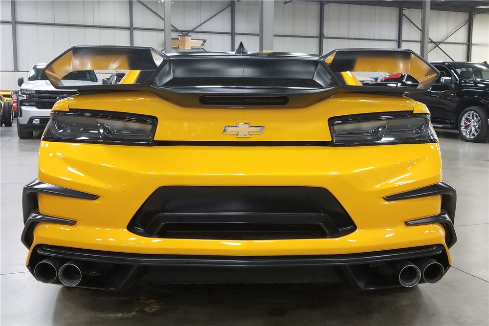Bumblebee Camaro auction (11)