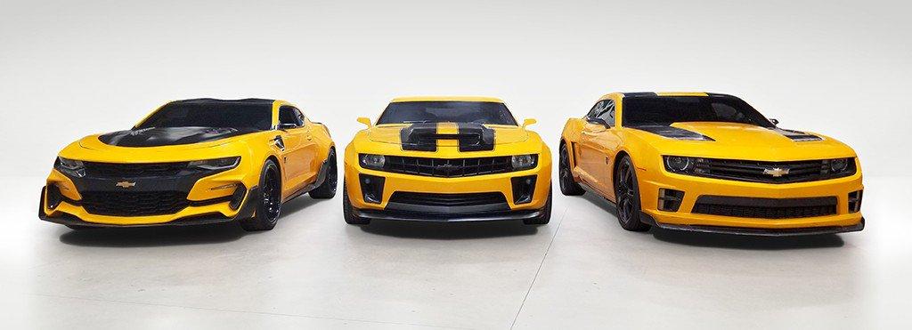 Bumblebee Camaro auction (12)
