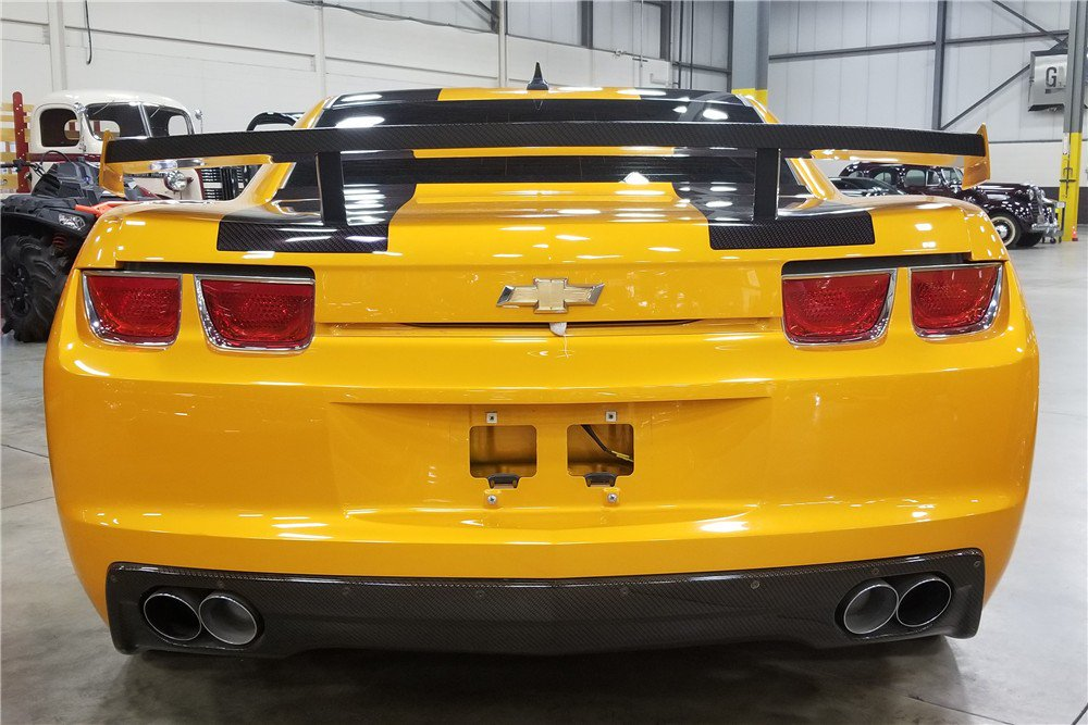 Bumblebee Camaro auction (6)