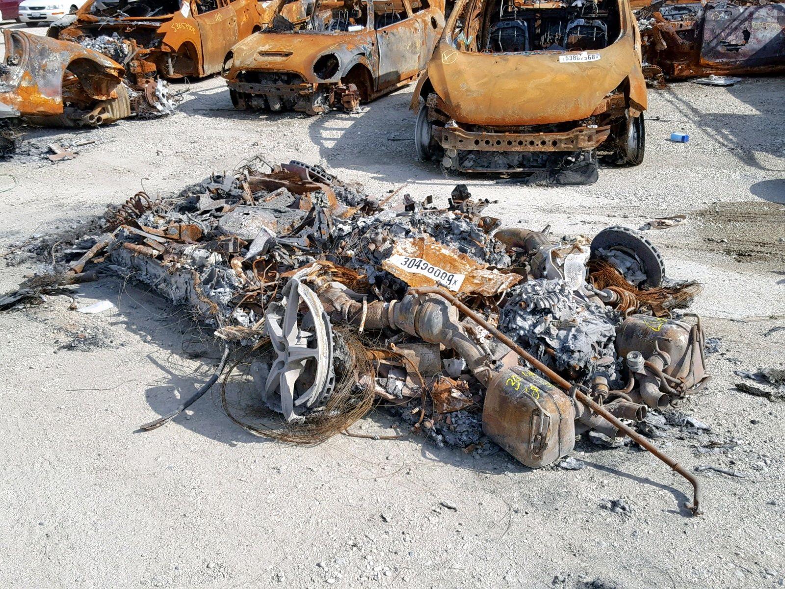 Burned-Ferrari-458-Spider-for-sale-1