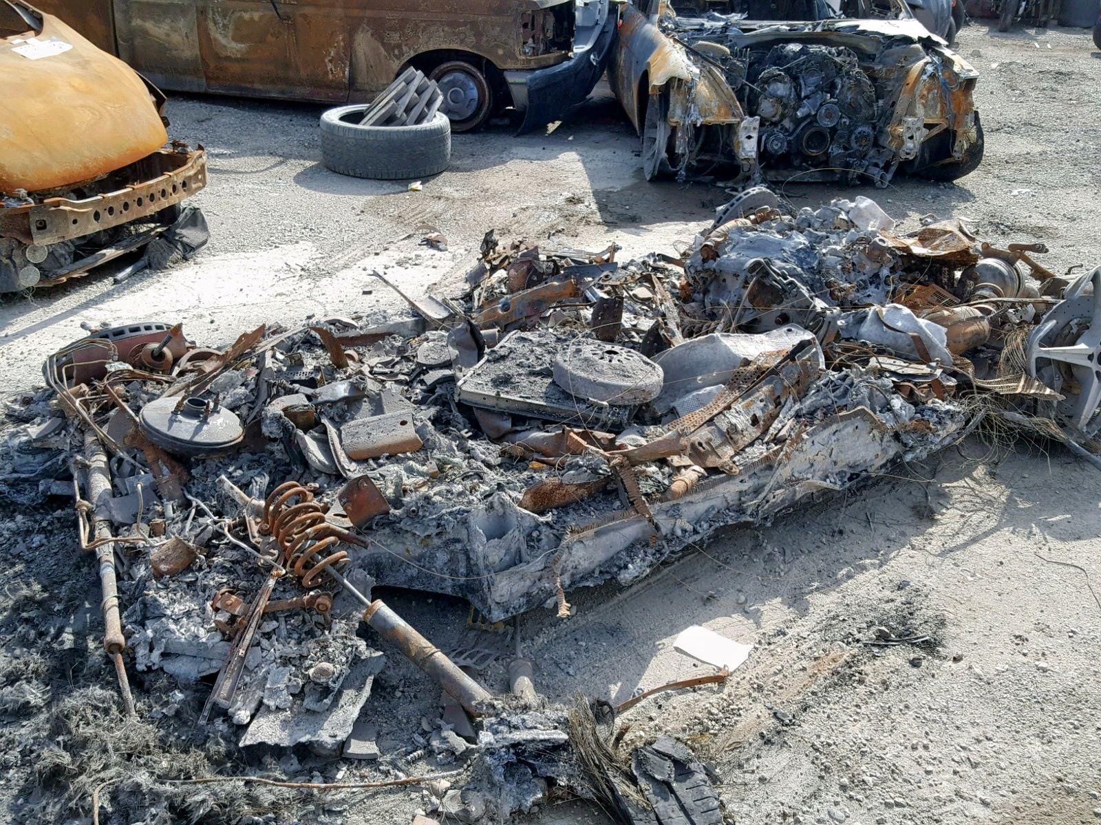Burned-Ferrari-458-Spider-for-sale-7