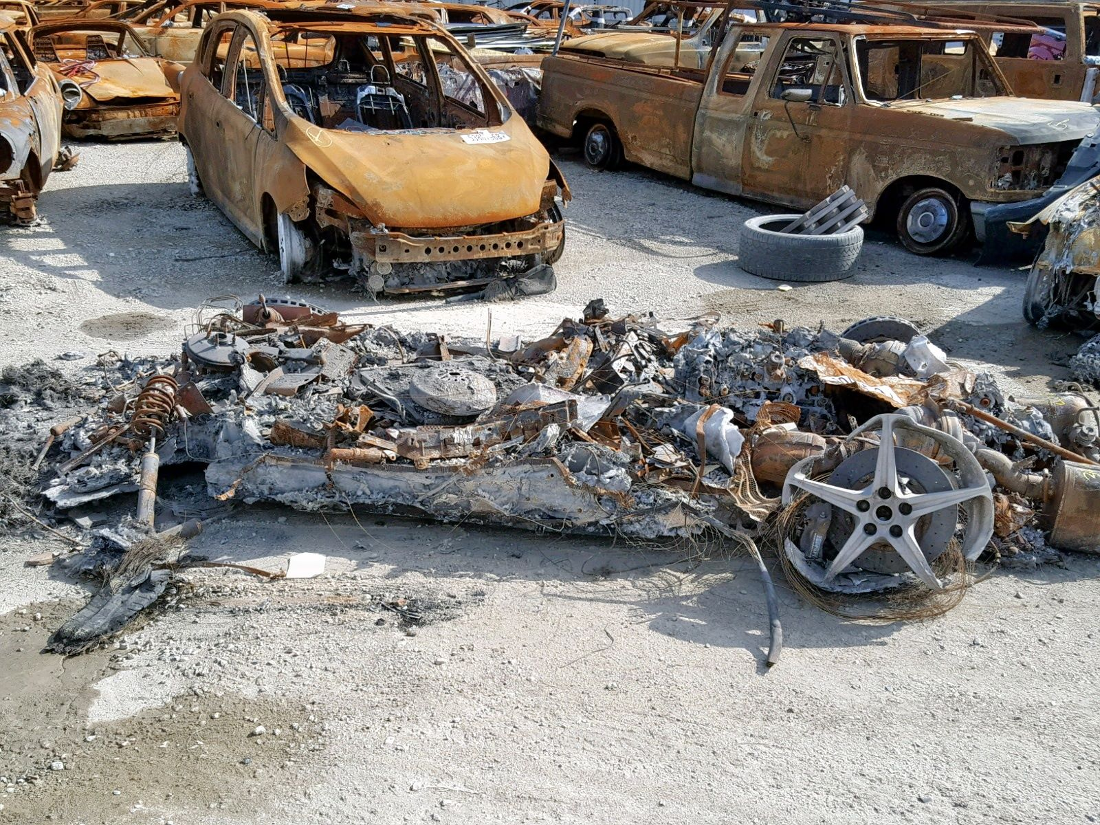 Burned-Ferrari-458-Spider-for-sale-8