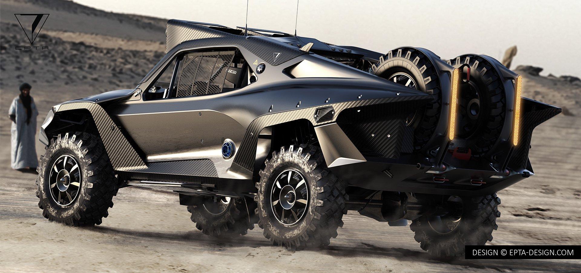 Desert Storm Trophy Truck by EPTA Design (2)