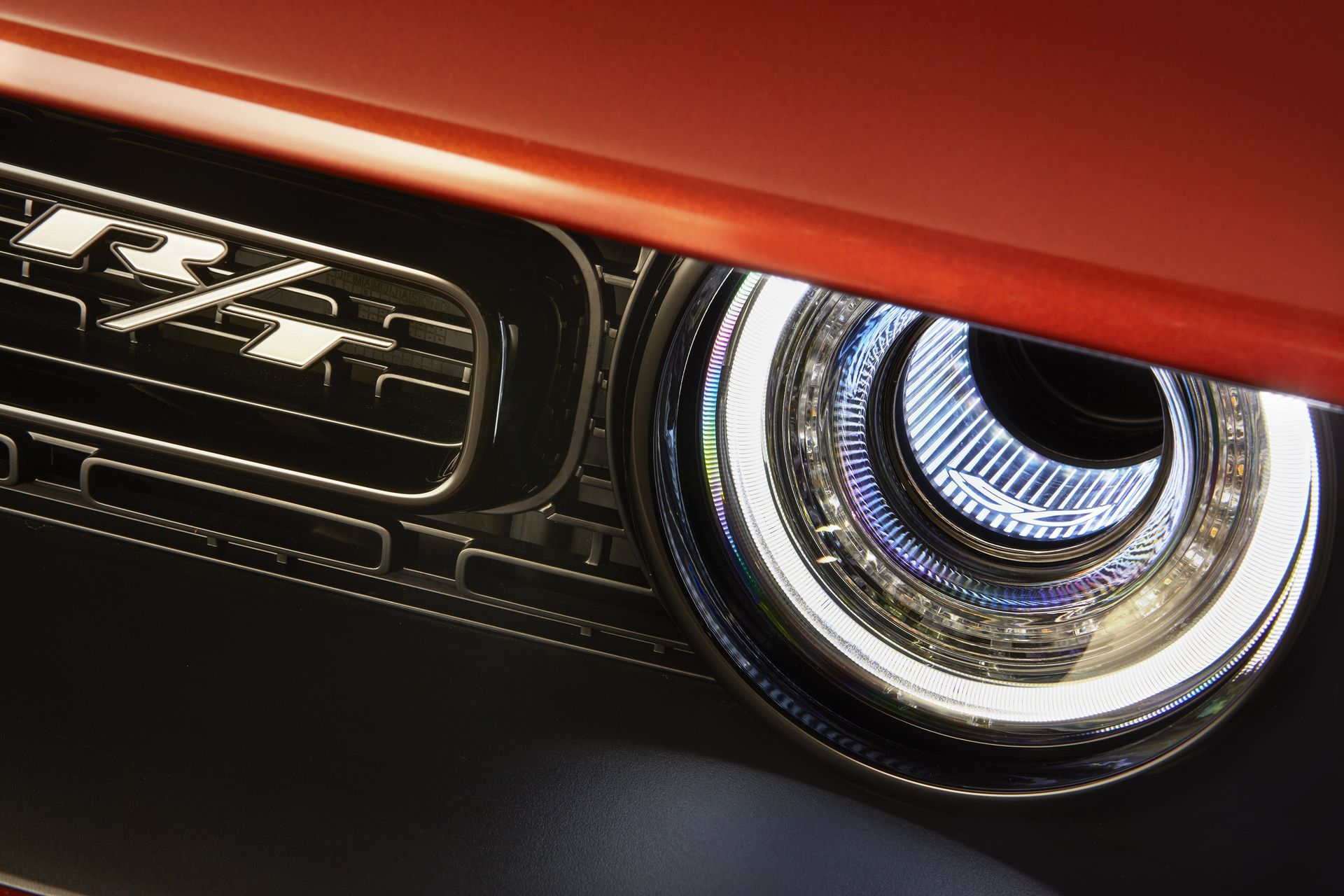 "Illuminated Air Catcher headlamps feature 50th Anniversary Edition LED-illuminated ""50"" logos."