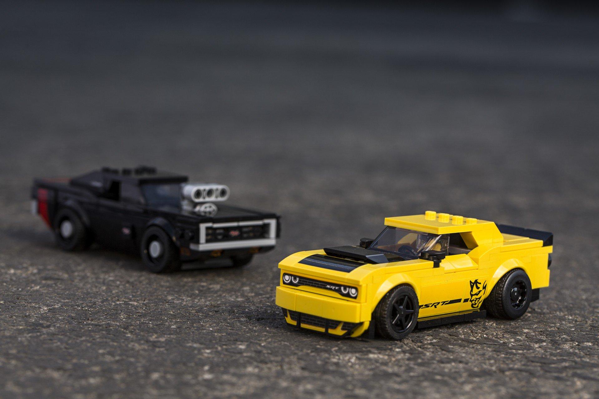 Dodge Challenger SRT Demon Lego Speed Champions (1)