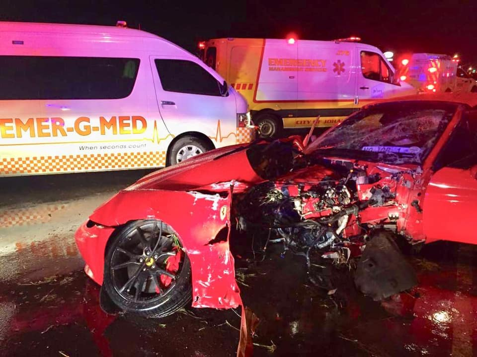 Ferrari California Johannesburg crash (3)