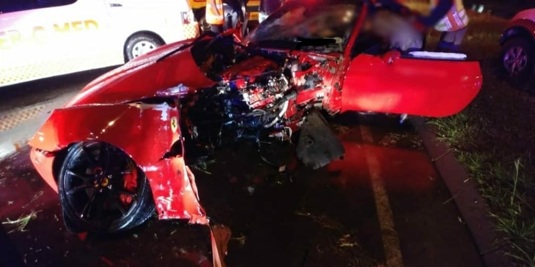Ferrari California Johannesburg crash (4)